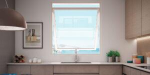 DF-Sistemi-Serramenti-e-Porte-Cucina-con-finestra-Prolux-Swing-di-Oknoplast