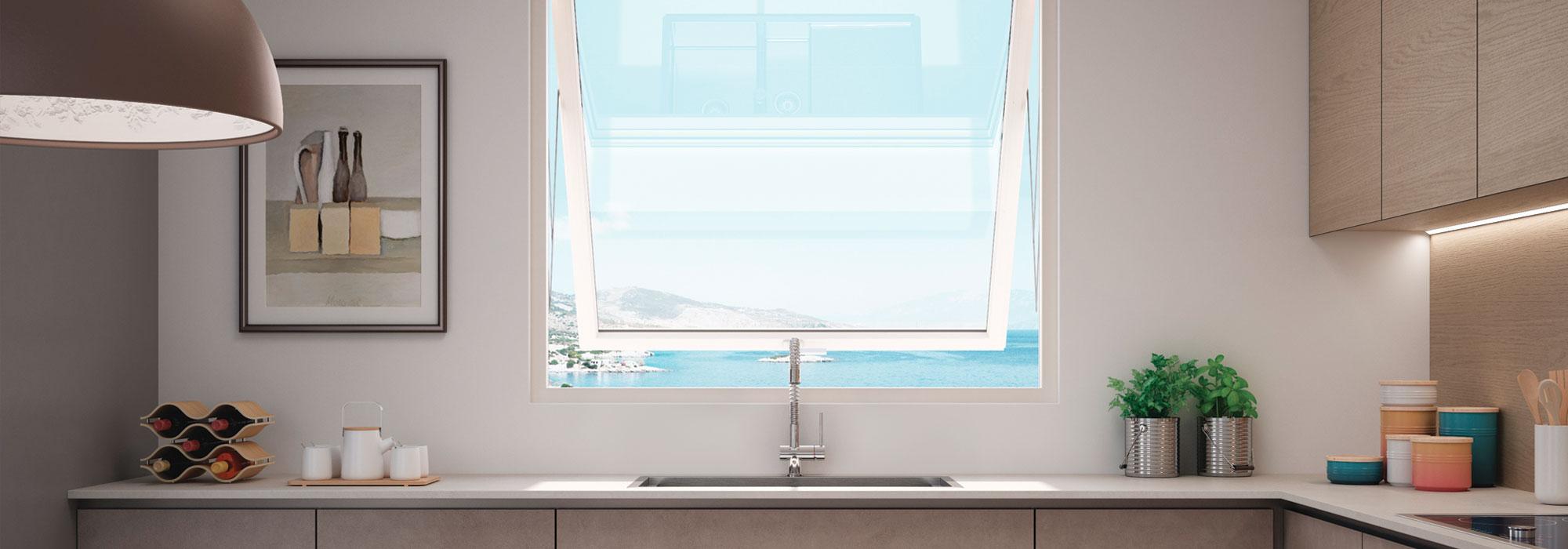DF-Sistemi-Serramenti-e-Porte-Cucina-con-finestra-Prolux-Swing-di-Oknoplast-home