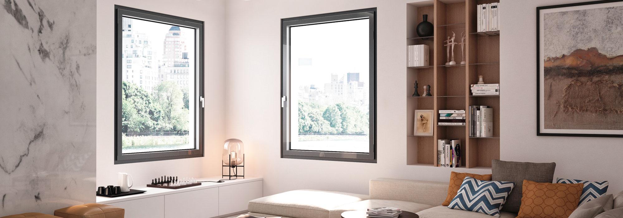 DF-Sistemi-Serramenti-e-Porte-Soggiorno-con-finestre-Prolux-Vitro-di-Oknoplast-home