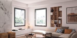 DF-Sistemi-Serramenti-e-Porte-Soggiorno-con-finestre-Prolux-Vitro-di-Oknoplast